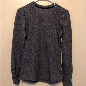 Lululemon gray long sleeve shirt size 6